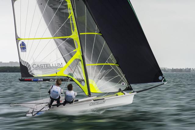 Carl P Sylvan & Otto Hamel (SWE) - 2014 ISAF Sailing World Cup Miami