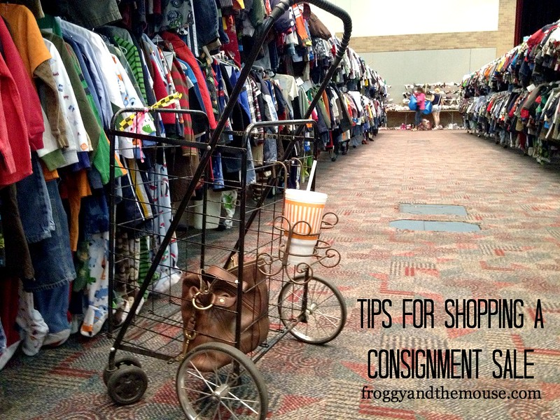 Tips for shopping a consignment sale