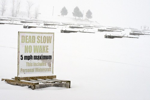 winter snow ontario canada cold sign club docks warning river pier nikon sailing hiver ottawa caution boating frozenwater slips dickbellpark nowake 2014 d600 nepen