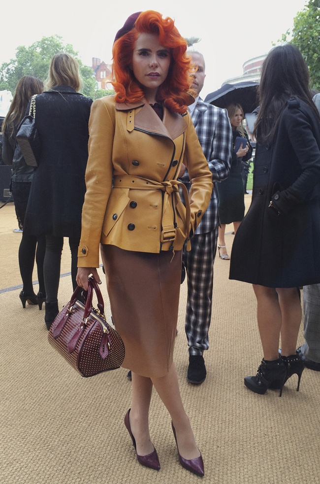 99 Paloma Faith at the Burberry Prorsum Womenswear Spring_Summer 2014 Show