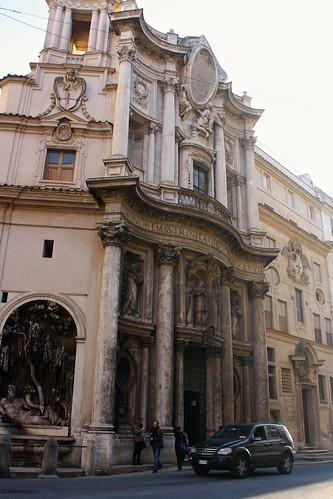 Church of San Carlo alle Quattro Fontane, Rome, Italy