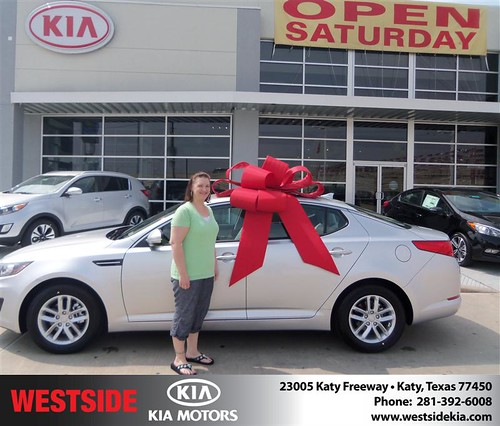 Happy Birthday to Michelle Mazyn from Baez Orlando and everyone at Westside Kia! #BDay by Westside KIA
