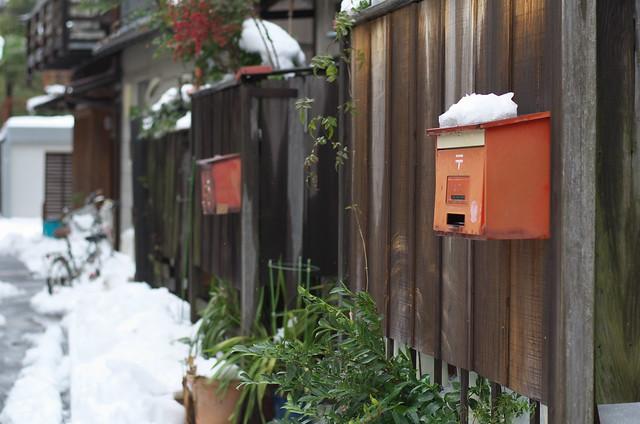東京雪景色 冬の谷中フォトウォーク 2014年2月15日