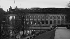 Royal Scottish Academy, dusk 01