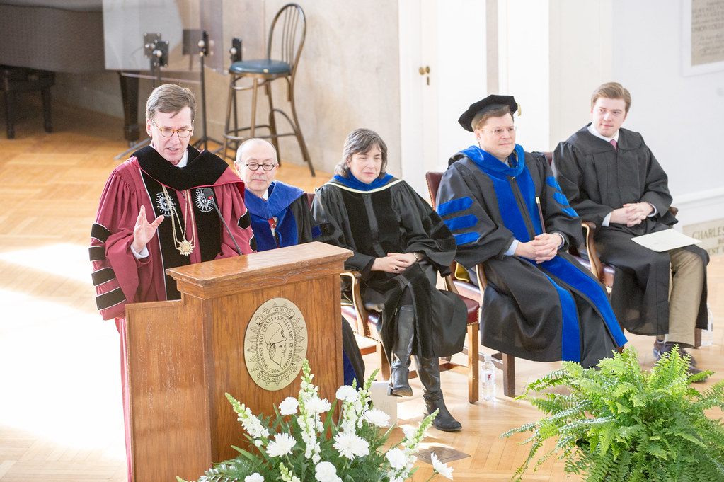 President Stephen C. Ainlay speaks at Founders Day.