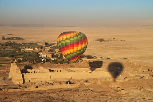 Hot Air Baloon, Luxor, Egypt