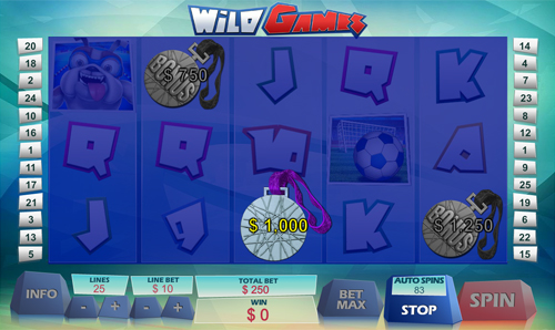 free Wild Games Bonus Game Prize