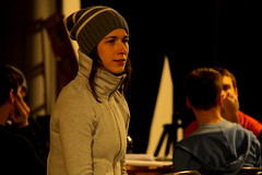 Wed, 2014-03-05 06:53 - Behind-the-scenes pictures of rehearsals for our adaptation of Dorian.