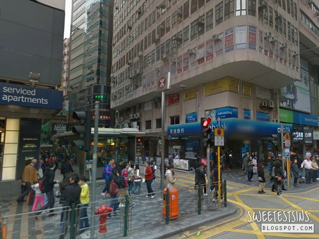 directions from  A21 82 84 Nathan Road bus stop to Mirador Mansion Cosmic Guest House (3)