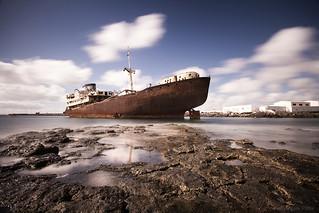 Barco Telamón, puerto los Marmoles