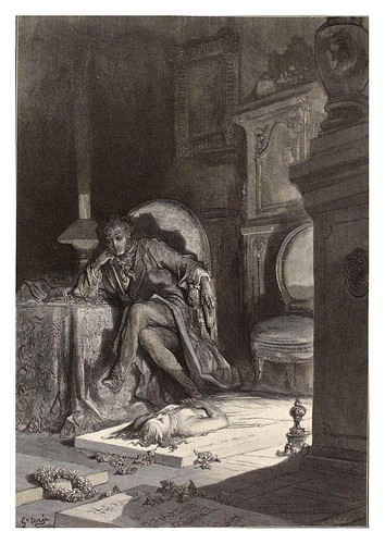 011-The Raven… Illustrated by Gustave Doré-1883-BNF-Gallica