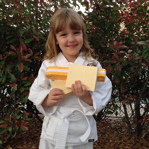 87:365 My little yellow belt.