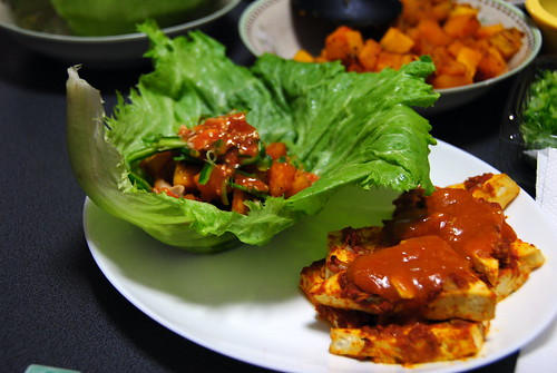 Tandoori Tofu and Lettuce Wraps 002r