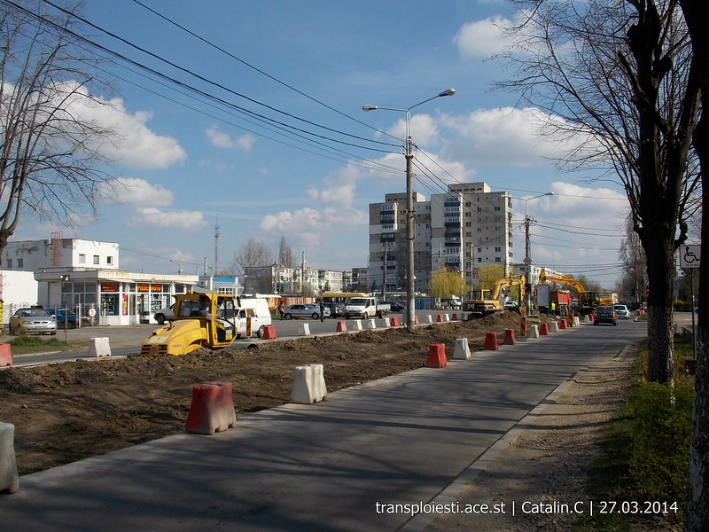 Traseul 102, etapa I: Bucla Nord ( Sp. Județean ) - Intersecție Republicii - Pagina 2 13506469563_68d11c9997_c