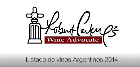 Puntajes Parker 2014 para los vinos de Argentina