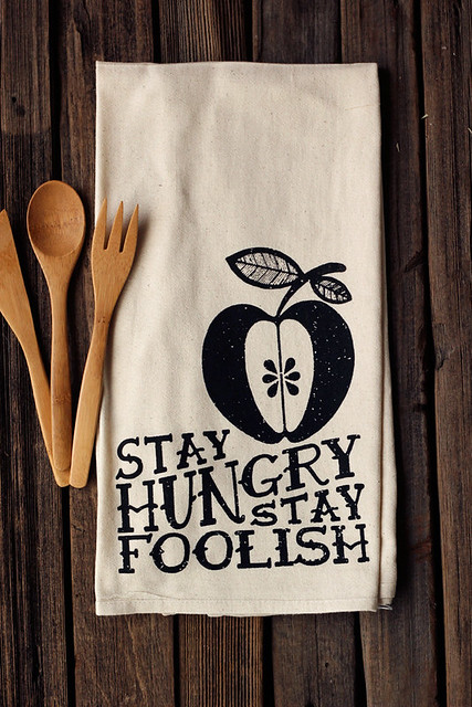 Handmade Eco-friendly Organic Floursack Cotton Tea Towels from Tasty Yummies