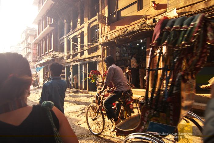 Crazy Streets at Kathmandu, Nepal