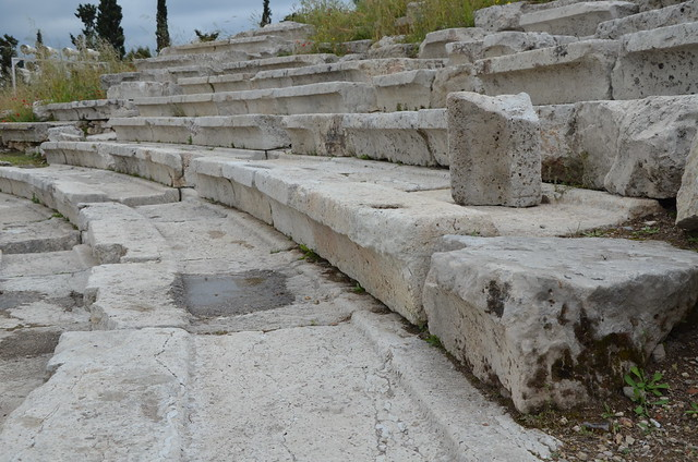 The Theater of Dionysus on the South Slope of the Acropolis, Athens, Greece