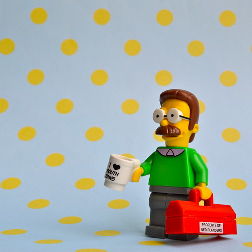 The Simpsons Minifigures: Ned