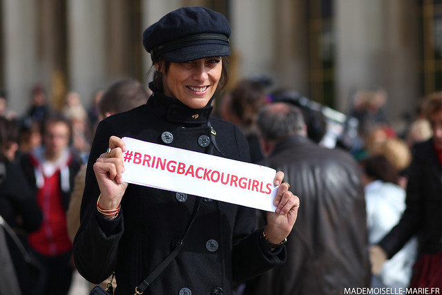 Bring Back Our Girls at Trocadero-5 copie