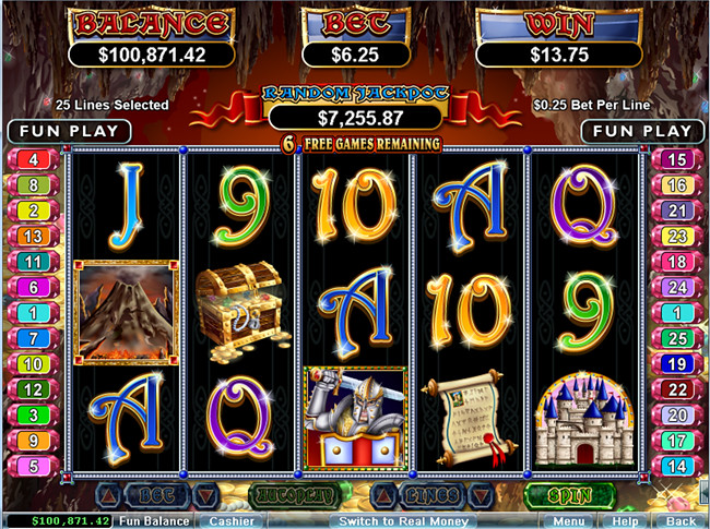 free Mystic Dragon slot bonus feature