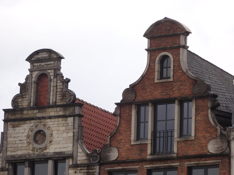 Flemish rooftops