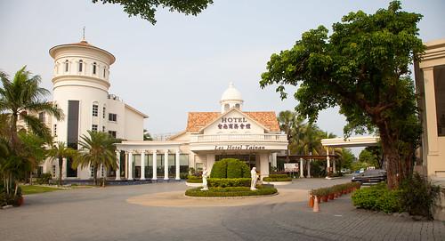 台南商務會館 飯店港式飲茶_飯店外觀