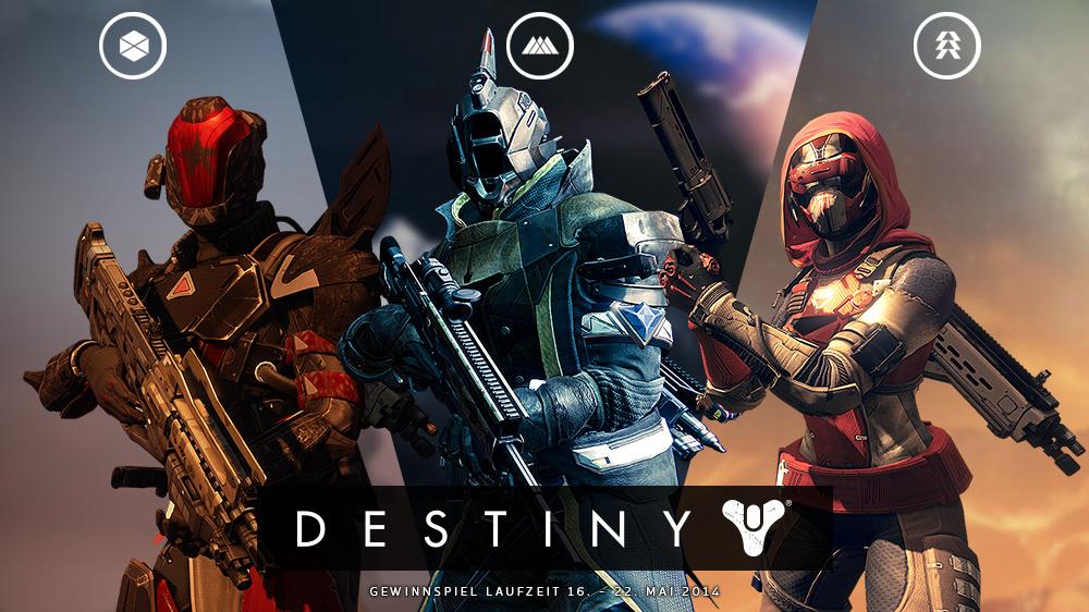 Destiny Gewinnspiel