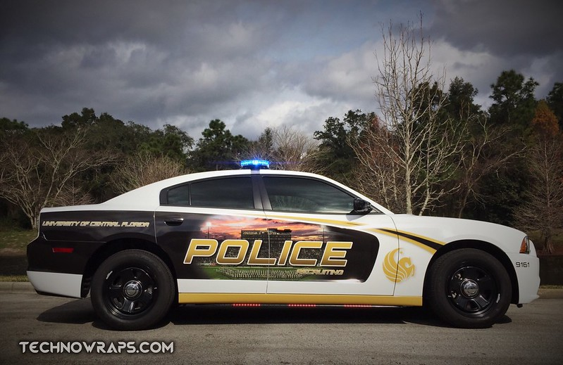 Law enforcement custom vehicle wrap by TechnoSigns