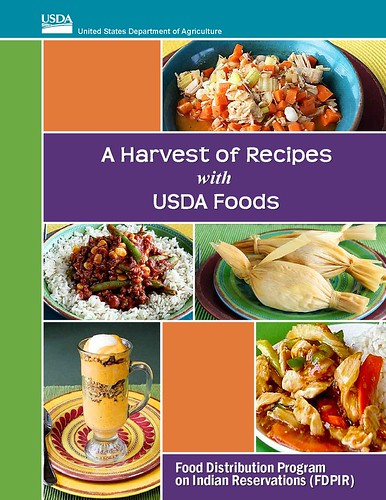 A Harvest of Recipes with USDA Foods, a cookbook for the Food Distribution Program on Indian Reservations, is now available on the What's Cooking? USDA Mixing Bowl website. All recipes are included in the searchable database.