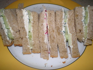 Veggie Tea Sandwiches