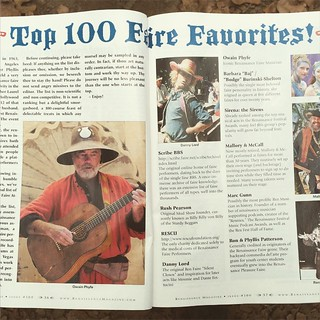 Look for me in the latest Renaissance Magazine in their Top 100 list! #RenaissanceFestival  #renaissancemagazine