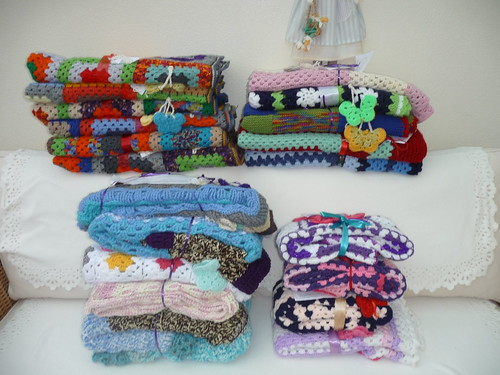 20 Sunshine Blankets to be delivered to St. Georges Home for the Elderly 20/02/2015