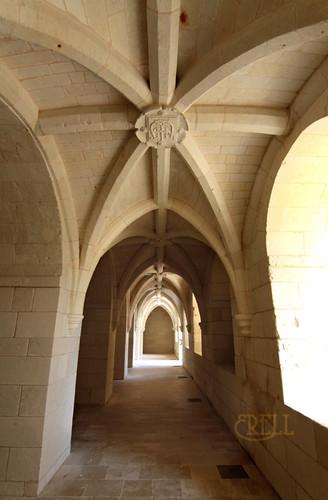 Fontevraud Abbey - Archway