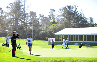 Military at AT&T Pebble Beach Pro Am