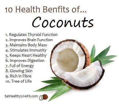 3. Coconuts