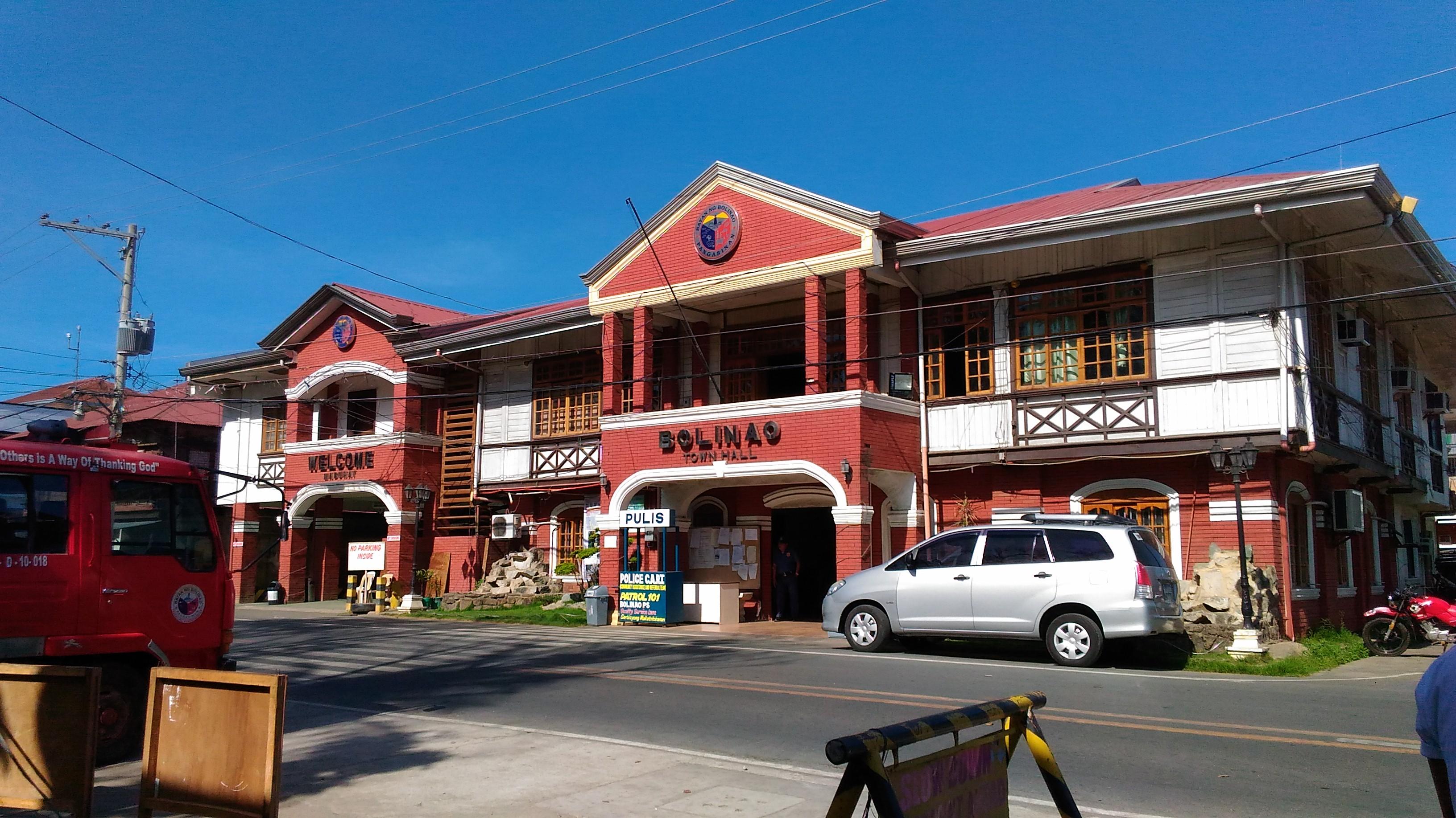 bolinao town hall