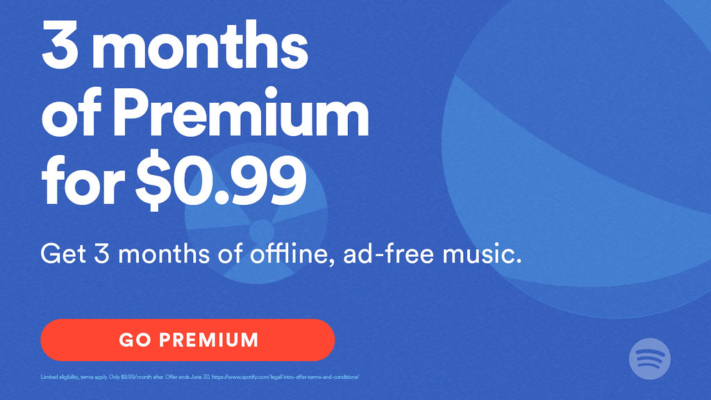 PSM & Spotify Special Offer May 2016