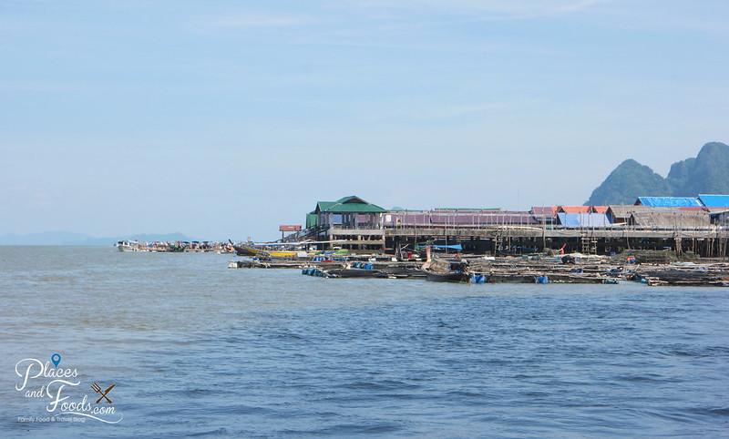 koh panyee fishing village view