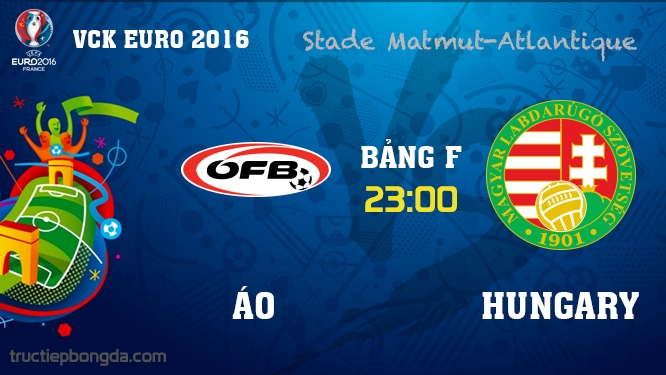 Áo vs Hungary