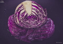 Half Of A Red Cabbage!