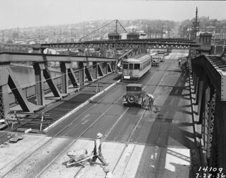 Fremont Bridge, 1936