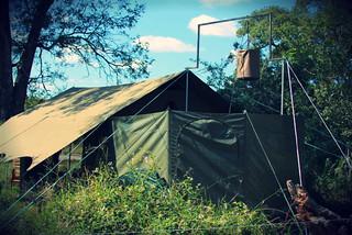 En-Suite Facilities at Jock Explorer Camp