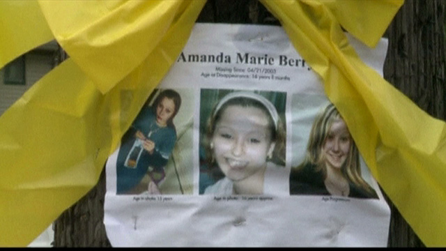 Missing poster for amanda berry