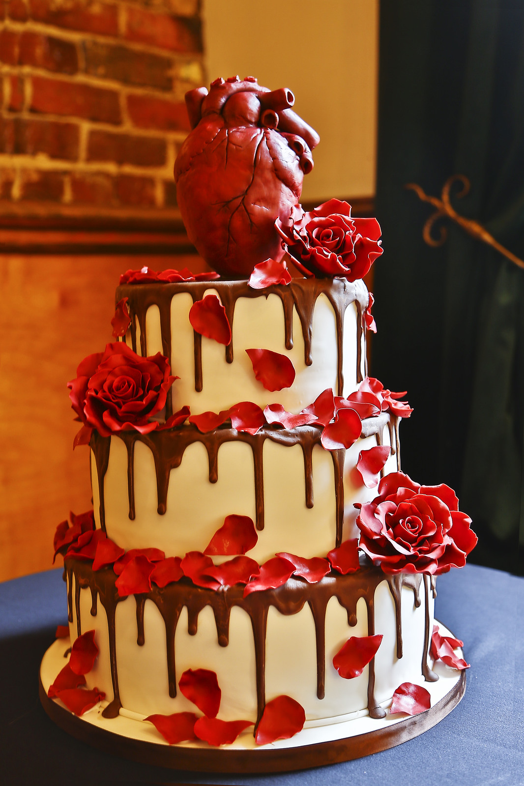 Eat your heart out of your wedding cake