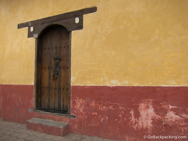 Doorway in San Cristobal de las Casas