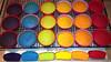 rainbow cupcake test
