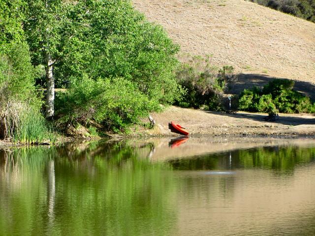 kayak at the lake