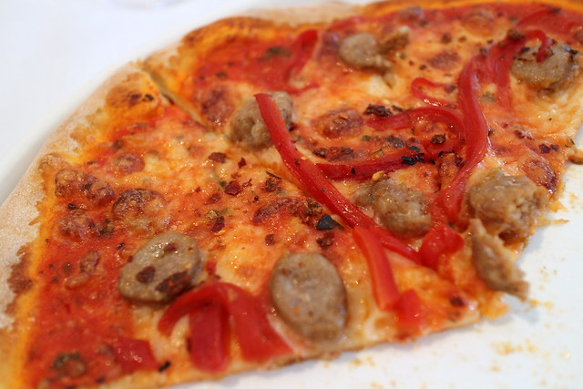 Several varieties of pizza are also available (taken with Canon EOS M)