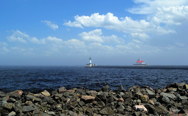 Duluth Harbor North Breakwater - Lighthouse